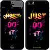 "Чехол на iPhone 5s Just Do It ""2725c-21-532"""