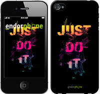 "Чехол на iPhone 4s Just Do It ""2725c-12-532"""