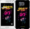 "Чехол на Samsung Galaxy Alpha G850F Just Do It ""2725c-65-532"""