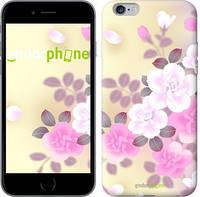 "Чехол на iPhone 6 Plus Японские цветы ""2240c-48-532"""