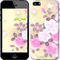 "Чехол на iPhone 5s Японские цветы ""2240c-21-532"""