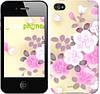 "Чехол на iPhone 4s Японские цветы ""2240c-12-532"""