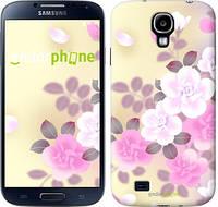 """Чехол на Samsung Galaxy S4 i9500 Японские цветы """"2240c-13-532"""""""
