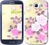 """Чехол на Samsung Galaxy S3 i9300 Японские цветы """"2240c-11-532"""""""