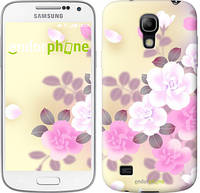 "Чехол на Samsung Galaxy S4 mini Японские цветы ""2240c-32-532"""
