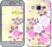 "Чехол на Samsung Galaxy Core Prime G360H Японские цветы ""2240c-76-532"""
