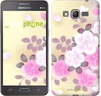 """Чехол на Samsung Galaxy Grand Prime G530H Японские цветы """"2240c-74-532"""""""