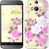 """Чехол на HTC One M8 Японские цветы """"2240c-30-532"""""""