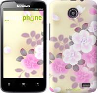 """Чехол на Lenovo A820 Японские цветы """"2240c-68-532"""""""