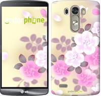 """Чехол на LG G3 dual D856 Японские цветы """"2240c-56-532"""""""