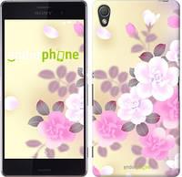 "Чехол на Sony Xperia Z3 D6603 Японские цветы ""2240c-58-532"""