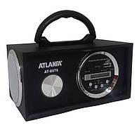 Колонка ATLANFA AT-8976 (черная)