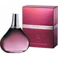Antonio Banderas Spirit For Woman 100мл,для женщин