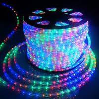LED 5050 M RGB  Мультицветная диоды  бухта 100m 220V + соеденитель