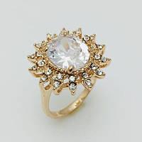 Перстень женский Солнечный, размер 19, 20