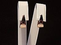 Золотые серьги. Артикул СБ439И, фото 1