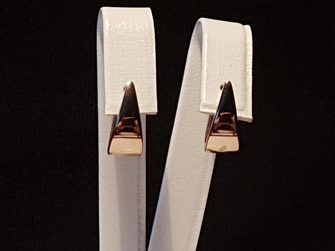 Золотые серьги. Артикул СБ439И