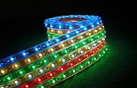 Светодиодная лента SMD 3528 60 Led/метр 12 Вольт,силикон, цвет белый, зеленый,желтый,красный,синий