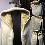 Ремонт шубы белая норка химчистка Черкассы ., фото 4