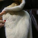 Ремонт шубы белая норка химчистка Черкассы ., фото 3