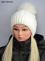 Зимняя шапка для девочки Венера (от 5 лет)