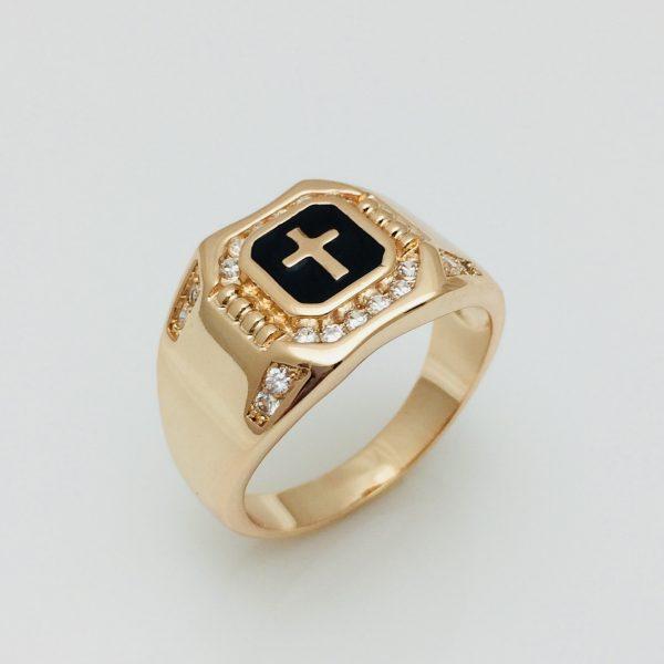 Перстень мужской Гато, размер 19, 20, 21, 22