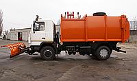 Сміттєвоз з заднім завантаженням на шасі МАЗ-5340С2