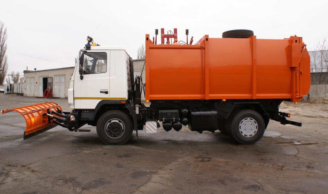 Сміттєвоз з заднім завантаженням на шасі МАЗ-5340С2 - фото 1