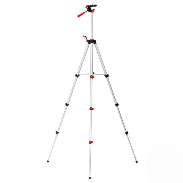 Штатив 1.3 м для лазерного уровня MT-3051, MT-3052, INTERTOOL (MT-3053)