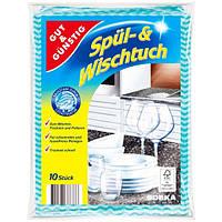 Салфетки универсальные для уборки G&G Spül- und Wischtuch 10 шт
