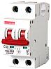 Модульный автоматический выключатель C50, 2 р, 50А, C, 10кА