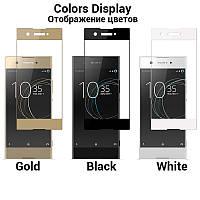 Защитное стекло для Sony Xperia XA Black (Tempered Glass Frame 2,5D) с рамкой