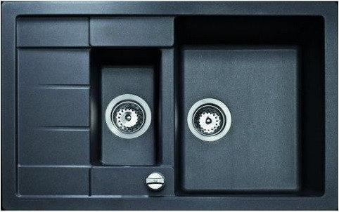 Мойка кухонная TEKA ASTRAL 60 B-TG черный металлик