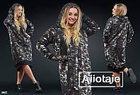 Модное теплое платье с варежками в стиле casual (черная основа, серая основа, военка)