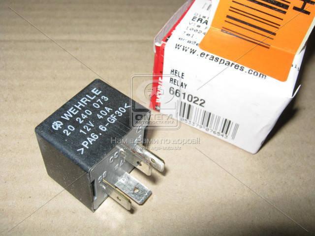 Реле, продольный наклон шкворня вентилятора (производитель ERA) 661022