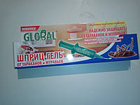 Шприц от тараканов Глобал шприц-гель 30 мл