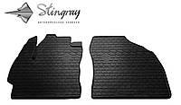Stingray Модельные автоковрики в салон Toyota Auris E150 2007-2013 Комплект из 2-х ковриков (Черный)