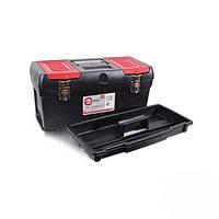 """Ящик для инструментов с металлическими замками 19"""", 483x242x240 мм, INTERTOOL (BX-1019)"""