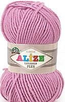 Alize lanagold plus - 98 розовый