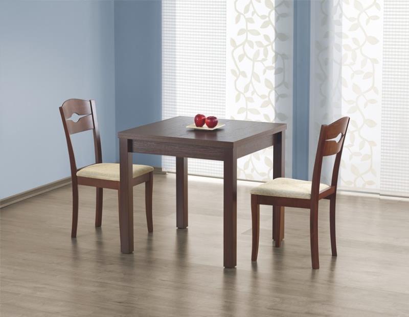 Стол обеденный Gracjan Тёмный орех (Halmar ТМ)