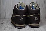Кроссовки высокие зимние Reebok Classic коричневые, фото 3