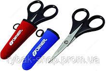 Ножницы рыбацкие Owner FT-01 с чехлом, цвет красный и синий