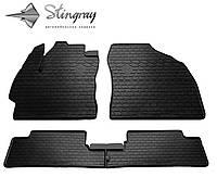 Коврики в салон Toyota Auris E150 2007-2013 Комплект из 4-х ковриков Черный в салон