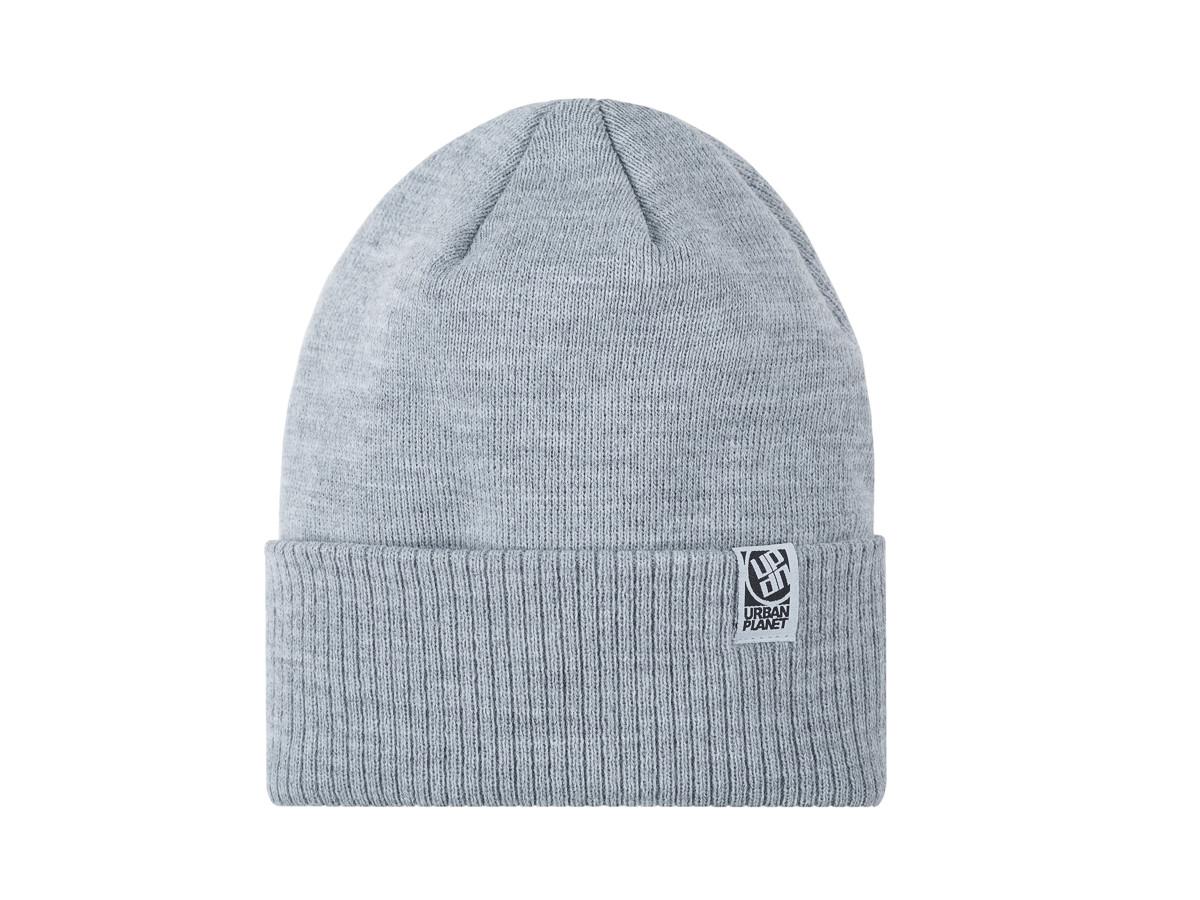 Шапка зимняя двойная Urban Planet C21 MEL (теплая шапка, шапка мужская