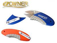 Ножницы рыбацкие Owner FT-05, цвет оранжевый