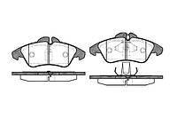 Колодка торм. MB SPRINTER 2-t, VW LT 28-35 передн. (пр-во REMSA) 0578.00