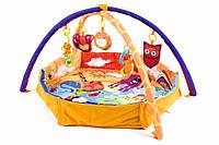 Игровой коврик, развивающий коврик, манеж KinderKraft ЖИВОТНЫЕ