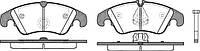 Колодка торм. AUDI A4 Allroad (8KH) (04/09-) передн. (пр-во REMSA) 1304.10