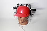 Шлем любителя пива Красный