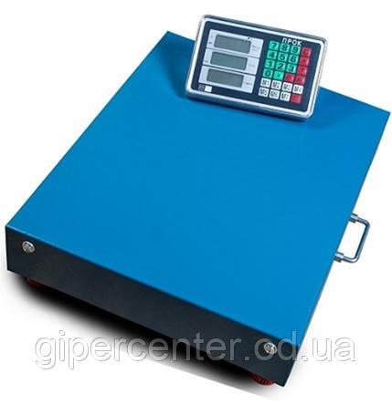 Весы товарные-платформенные ПРОК ВТ-300-WiFi до 300 кг, 400х500 мм